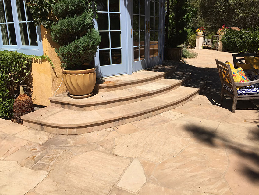 Arizona Flagstone Patio And Steps
